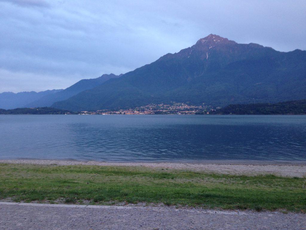 Vista lago di Como Aggiungere