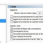 eD2k Aggiornamento server eMule Adunanza