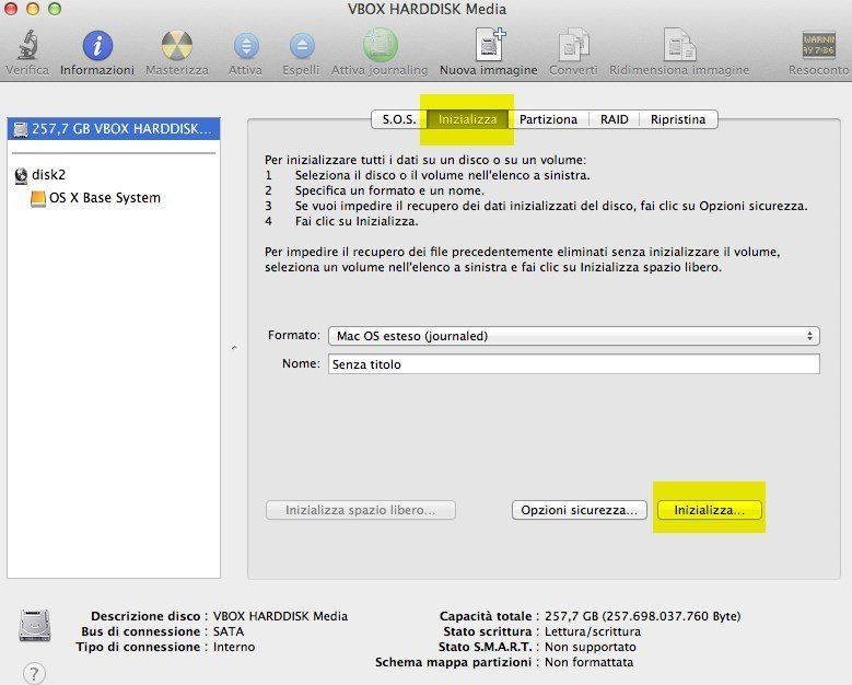 OSX MAVERICKS INIT