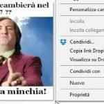 Dropbox archiviazione online utilizzo: Windows